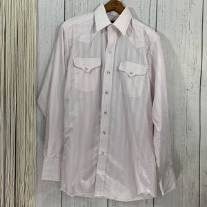 Vintage Panhandle Slim Pearl Snap Button Down